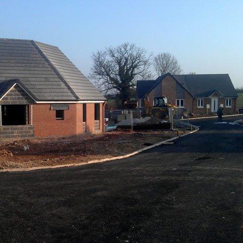 Developments at the Woodlands, Spion Kop, Mansfield