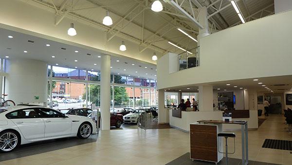car-showroom-plasterwork
